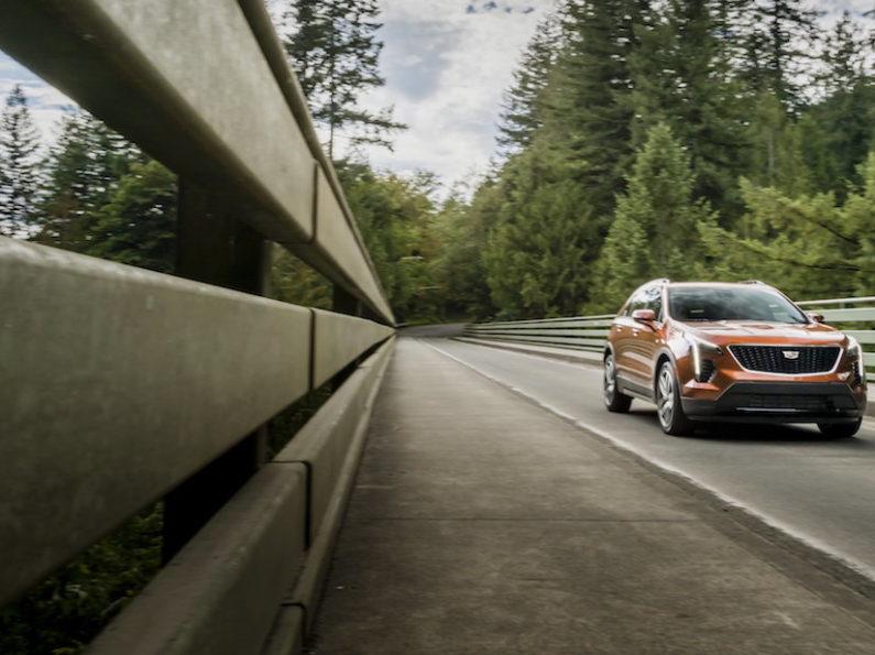 Cadillac XT4 Premium Luxury del 2021, el SUV más pequeño de la marca
