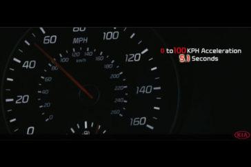 Kia GT Curve Ahead